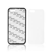 Чехол для IPhone 5 пластик черный силикон со вставкой