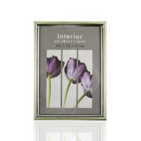 Фоторамка пластиковая Interior Office 15*21 см. Серебро (590)