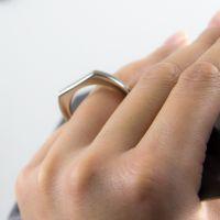 Кольцо для мобильного телефона прямоугольник поле для сублимации 38х16мм