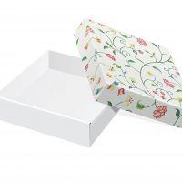 Коробка под тарелки Луговые цветы