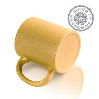 Кружка керамика золотая перламутровая 330мл