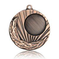 Медаль HB089 бронза D50мм, D вкладыша 25мм