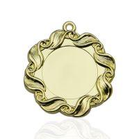 Медаль корпусная MK35a золото D медали 45мм, D вкладыша 25мм