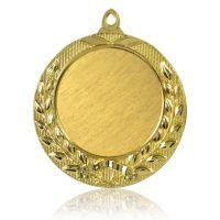 Медаль Zj-M728 золото D65мм, D вкладыша 45мм