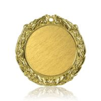 Медаль Zj-M790 золото D65мм, D вкладыша 45мм