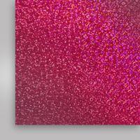 Пленка термотрансферная, голографическая, розовая, 500мм x 50м