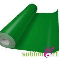 Пленка термотрансферная в рулонах зеленая, Flex ПУ, 50см х 30м