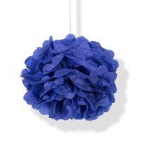 Помпон синий h40см