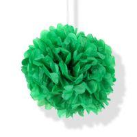 Помпон зелёный h40см