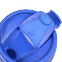 Термостакан пластик синий под полиграф вставку 350 мл